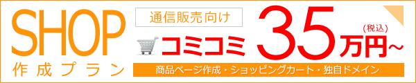 ネットショップ作成プラン